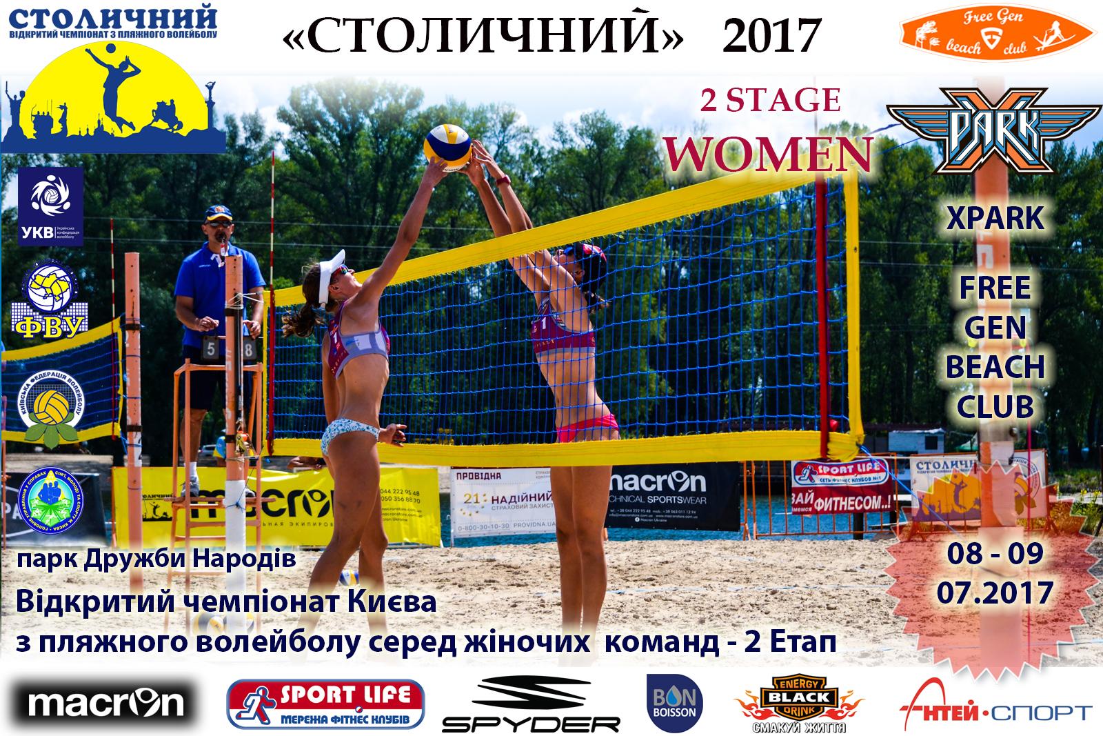 Пляжний волейбол. 2 Етап