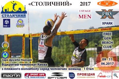 Пляжний волейбол. 1 Етап