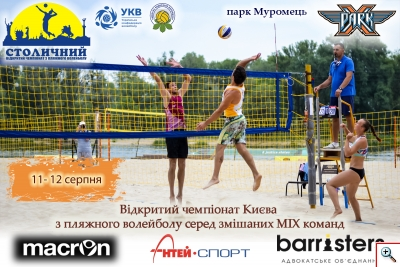 Пляжний волейбол. Mixed 2018 - 3 Етап