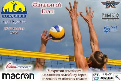 Пляжний волейбол. 3 Етап